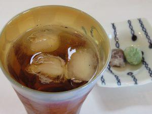 冷たいほうじ茶