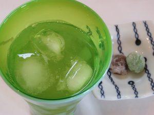 冷たい煎茶